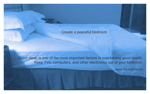 blog create a peaceful bedroom