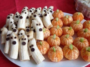 Halloween food art - GreatFoodFunPlaces.com