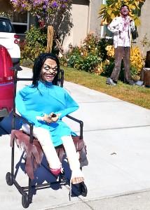 Halloween wheelchair