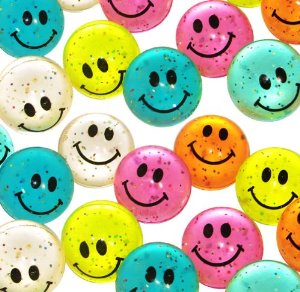 Smiley Face Balls