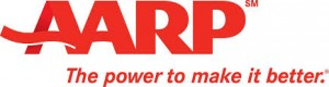 AARP logo - The power to make it better.