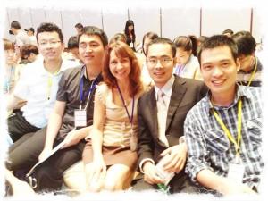 Eric Chen Lorraine Wei Eddie Toastmasters