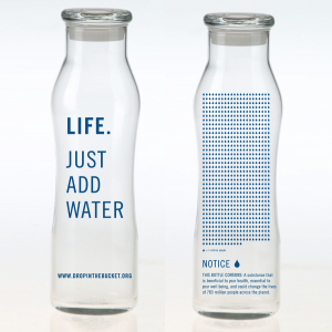 water bottle - DropInTheBucket.org