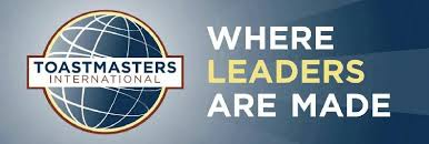 Toastmasters where leaders are made logo
