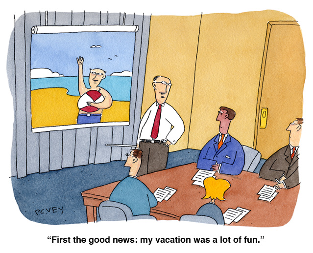 vacation beach picture cartoon PC Vey