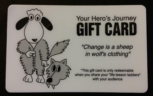 2014-06-18 Darren LaCroix Gift Card
