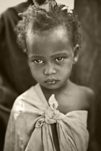 Wamba Girl who will have the opportunity to get education through Asante Africa, photography by Heward Jue