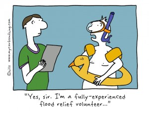 New flood volunteer cartoon 1 Hills