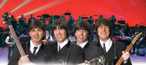 Fab Four from the Classical Mystery Tour paying tribute to the Beatles