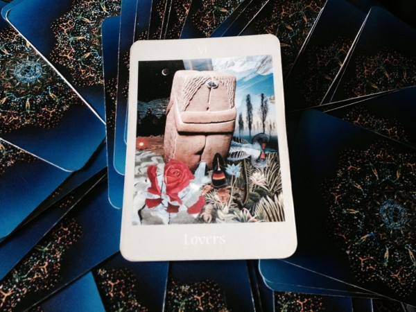 Lovers card means you're combining energies with another person or entity to create something new.