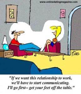 Online Dating Magazine Cartoon tips women