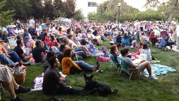 Beatles music at Target Summer Pops series at San Jose State University