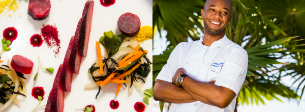 Pacific'O Executive Chef Anton Haines