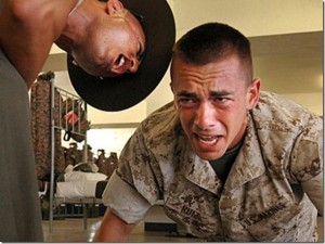 Be your own drill sergeant!