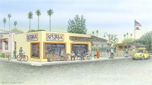 Orange Cat Cafe in Pismo Beach, CA