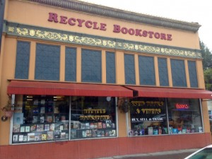 Recycle Bookstore is a great place to buy and sell both used and new books