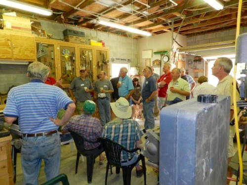 Jax Woodworkers Club members Naylor Sawdust Trail gathering men Jacksonville Florida