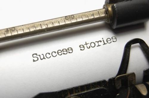 customer success stories typewriter blogger content marketing strategy