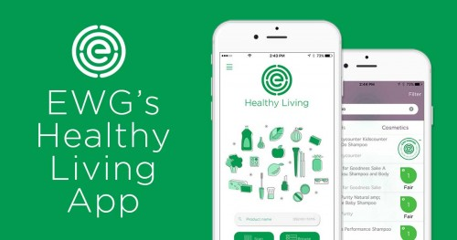business reviews ratings EWG healthy living app