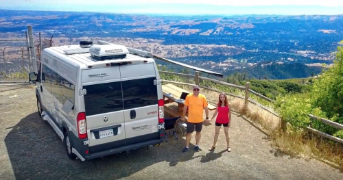 Class B RV RAM Mount Diablo techie and writer video productions