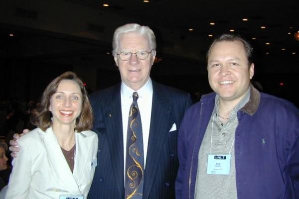 Lorraine Haataia with Bob Proctor, Proctor Gallagher Institute