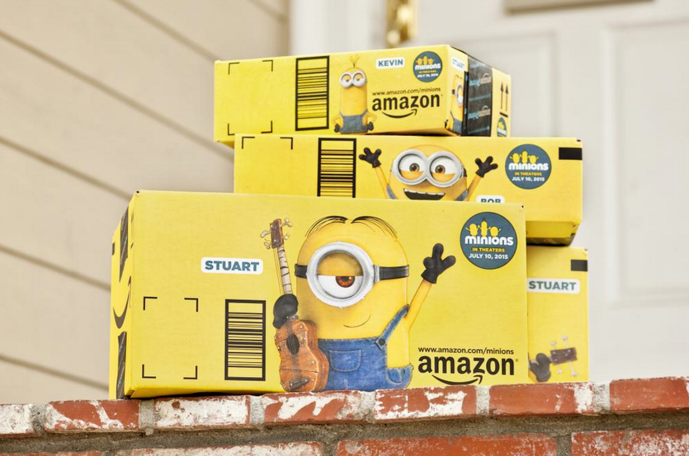 Minions and Amazon plot to take over the world. Will they succeed?